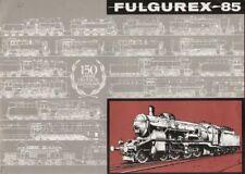 catalogo FULGUREX 1985 150 Jahre Deutsche Eisenbahn Spur HO HOm O     D F     aa