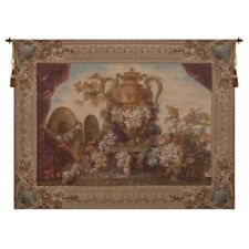 Vase and Raisins French Tapestry Wall Hanging