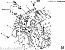 CADILLAC NORTHSTAR FRONT EGR PIPE 12553582