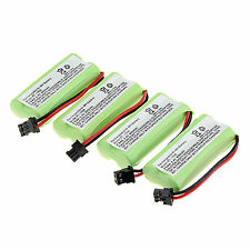 4x 800mAh Cordless Phone Rechargeable Ni-MH Battery For  Uniden BT-1008 -Green