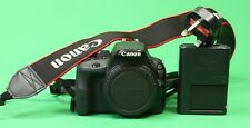 Canon EOS 100D DSLR Camera Body, Battery and Charger with Strap.  Excellent.