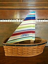 New ListingLongaberger 2005 Cruise With Us Row Your Boat Incentive Award Basket New
