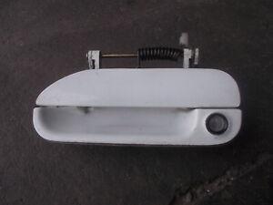 SKYLINE R32 GTST GTR 2/4Door outer door handle Whit + lock passenger L/H side#31