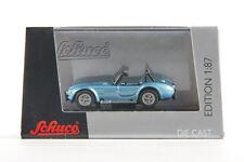 Lot 180913 Schuco Shelby AC Cobra, Druckguss, blaumetallic, 1:87, Klarsichtbox