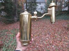 Antique German Student Lamp Co. 1874 Oil Kerosene Lantern PART *Highly Polished*