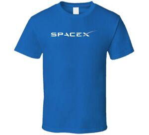 Spacex Aerospace Rockets Company  Blue 1 T Shirt