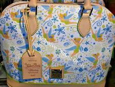 Disney Dooney And Bourke Tinkerbell Marathon 2017 Kimberly Satchel Handbag Purse