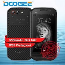 "5"" DOOGEE S30 4G Smartphone Android 7.0 2GB+16GB IP68 Waterproof 5580mAh Mobile"