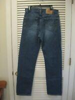 Vintage Levi's 505 Jeans 34X34 Regular Fit Straight Leg Red Tab Levis