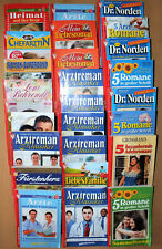 Konvolut Romanhefte Arzt-, Liebes-, Heimatromane 96 Stück