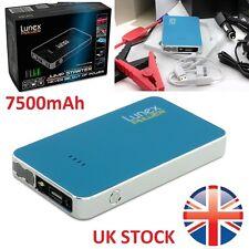 Lunex 7500mAh 12V Cargador de Coche Jump Starter Pack Banco de la energía de la batería de refuerzo