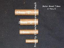 """Pack Of 10 Motor Mount Tubes For 24mm """"E"""" Motors"""