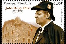 Spanish Andorra 2017 - Personalities - Julià Reig i Ribó mnh