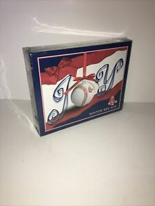 MLB Boston Red Sox Joy Christmas Holiday Card Set  15 Cards & Envelopes UNIQUE