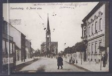 1922 SZOMBATHELY IN HUNGARY TO NYC W/8C POSTAGE DUE