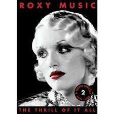 Roxy Music-The Thrill of It All: A Visual/History 1979-1982 (neuf dans sa boîte)