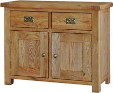 Grasmere solid oak furniture small dining living room sideboard