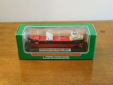 2002 Collectible Miniature Hess Voyager with Lights in Box