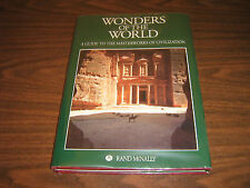 Wonders of the World / Master Work of Civilization  Hard Cover& Dust Jacket