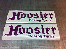 2 x  Hoosier Racing Tyres Sticker/Decal