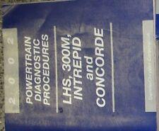 2002 DODGE 300M INTREPID CHRYSLER CONCORDE LHS Powertrain Diagnostic Manual OEM