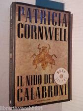 IL NIDO DEI CALABRONI Patricia Cornwell Anna Rusconi Mondadori 2008 romanzo di