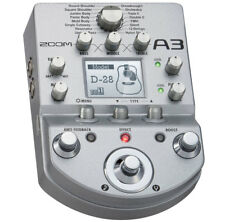 Zoom A3 Vorverstärker und Multieffektgerät Preamp für Akustikgitarre