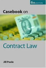 Casebook on Contract Law,Jill Poole- 9780199260591