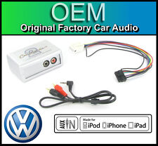 VW Caddy AUX in lead Car stereo iPod iPhone MP3 player adapter connection kit