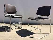 2x Matrix Krueger Stuhl Stapelstuhl Stühle 60s 70s MID CENTURY Vintage Panton