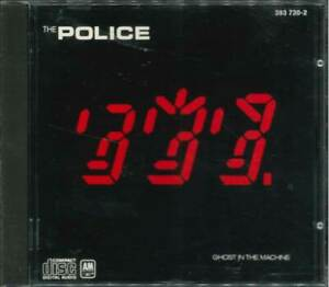 """THE POLICE """"Ghost in the Machine"""" CD-Album"""