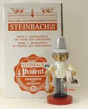 "STEINBACH GERMAN WOODEN NUTCRACKER CHUBBY SMOKER ""DENTIST"" S945 NEW"