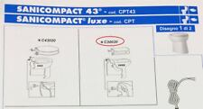 Asiento blanco luxe de plástico SFA C30020