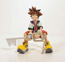 "RARE 2002 Sora & Keyblade 4.25"" Anime Action Figure Disney Kingdom Hearts"