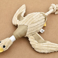 Pet Puppy Chew Squeaker Squeaky Plush Duck For Dog Play Toy Nontoxic Funny New