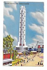 1933 Chicago World's Fair Pc Giant Havolin Thermometer