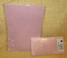 10 FOGLI CARTA GELSO + 10 BUSTE  A4 COLORE ROSA BABY  cod.11424