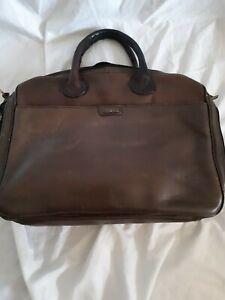 Hidesign Brown Leather shoulder/carry bag
