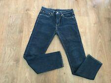 Levis dark blue men jeans a bit stretching W31 L32 Great condition