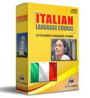 Learn to speak ITALIAN language audio course learn how to speak fast 12 AUDIO CD