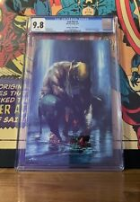 """Iron Fist #1 CGC 9.8 Dell'Otto """"Virgin"""" Variant Edition White Pages!"""