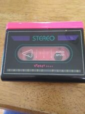 Vtg Street Beat Personal Stereo Cassette Player Pink