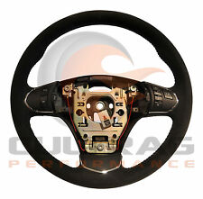 2005-2013 C6 Corvette Genuine GM Suede Manual Steering Wheel 60th Blue Stitching