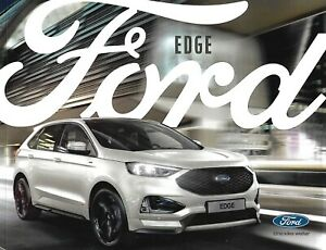 Prospekt / Brochure Ford Edge 11/2018