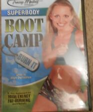Tracey Mallett Superbody Boot Camp Burn It DVD Exercise Workout Fitness Cardio
