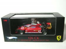 Hot Wheels Hwt6269 Ferrari 126 CK J.villeneuve'81 1 43 Modellino
