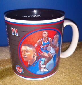 Isiah Thomas Detroit Pistons NBA Mug by Sports Impressions 92-93 Basketball NICE
