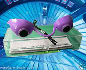 Glasses For Solarium Anti UV Standards Ce Goggles Of Gafas Protection Purple
