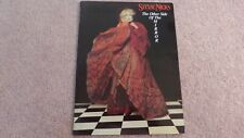 Stevie Nicks 1989 The Other Side Of The Mirror Tour Concert Program Book Vg+