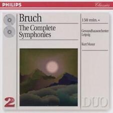 Max Bruch : Complete Symphonies CD (1998) ***NEW***